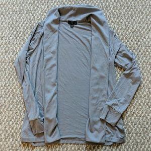 J crew 365 grey shawl cardigan
